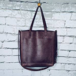Madewell The Medium Transport Tote in Cabernet